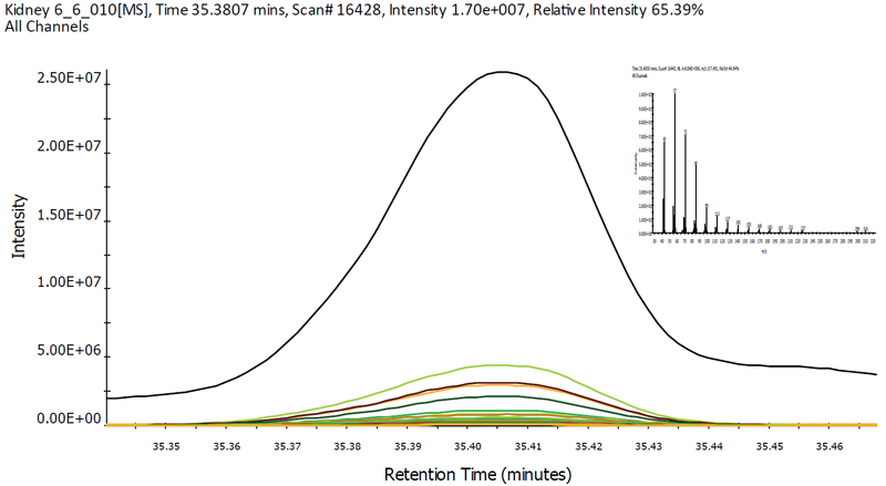 Spectrum and EICs of docosane